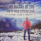 Get out of our Comfort Zone!